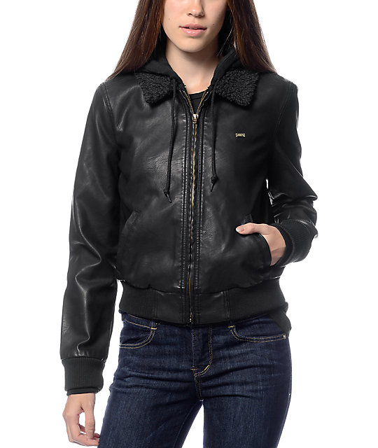 Mens leather jacket zumiez