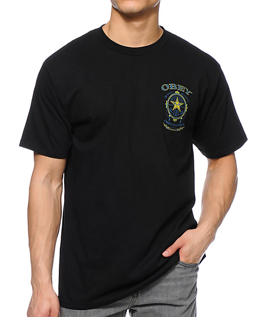 Obey Chronic Black T-Shirt