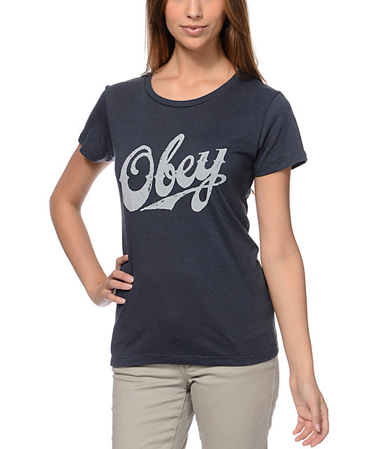 Obey Classic Dark Grey T-Shirt