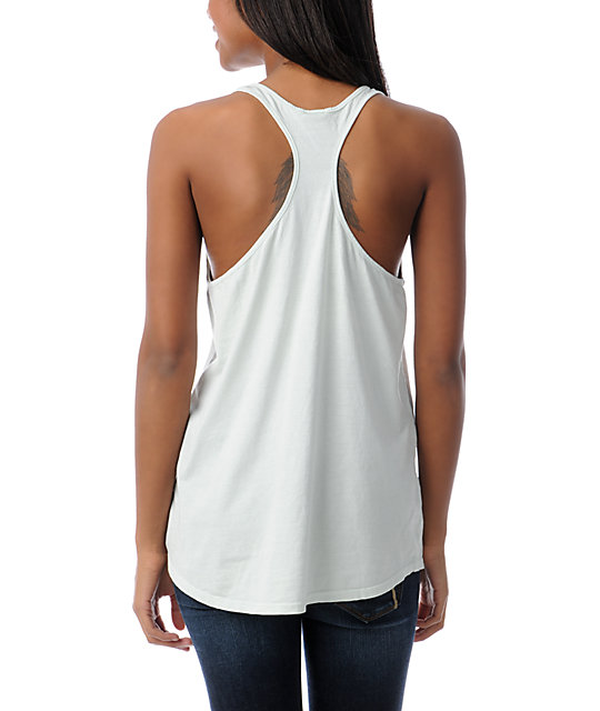 Obey Club Obey Slouchy Pastel Green Tank Top