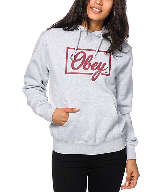 Womens obey hoodie