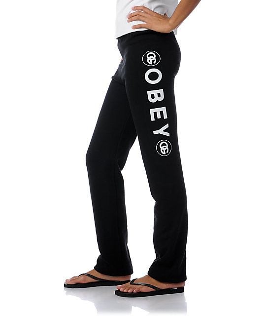 Obey Coco Black Sweatpants