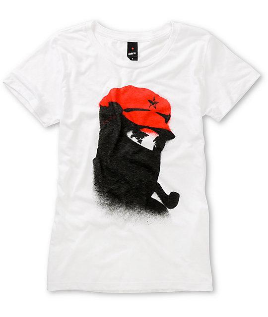 Obey Comandante White T-Shirt
