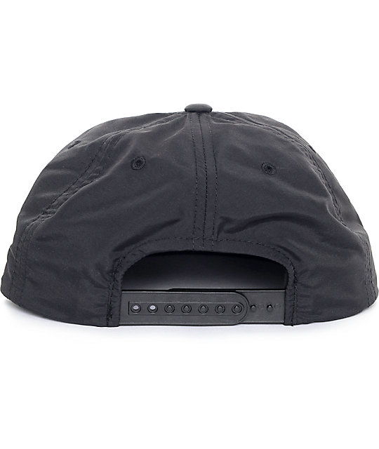 Obey Commission Black Unstructured Hat