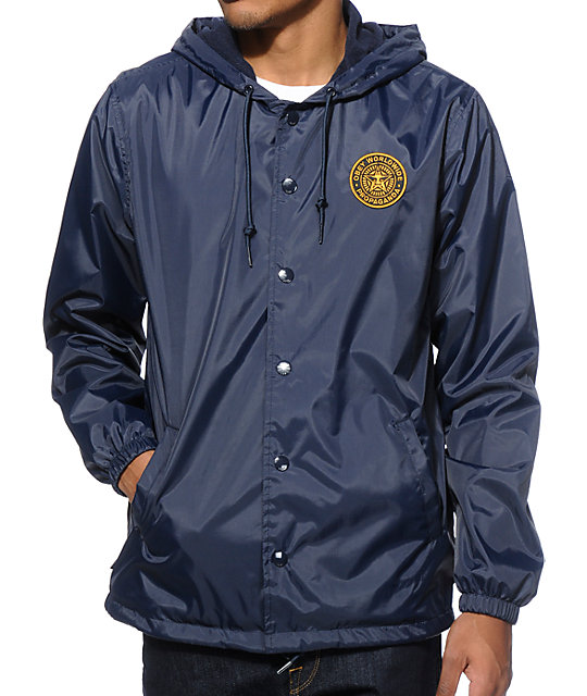 Obey Coop Hooded Coach Jacket at Zumiez : PDP