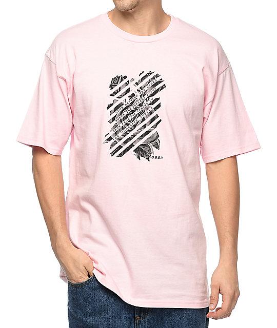 Defiant Rose Pink T-Shirt