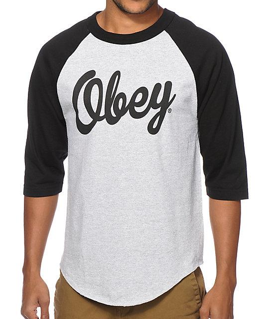 Obey Dewallen Baseball T-Shirt