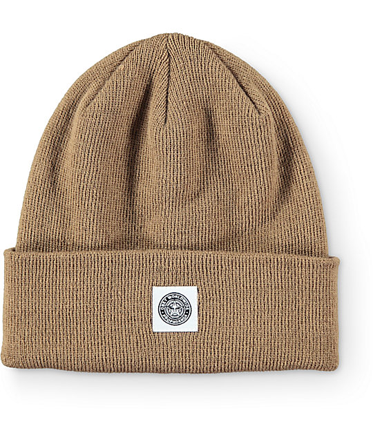 Obey Downtown Gas Station Tobacco Fold Beanie