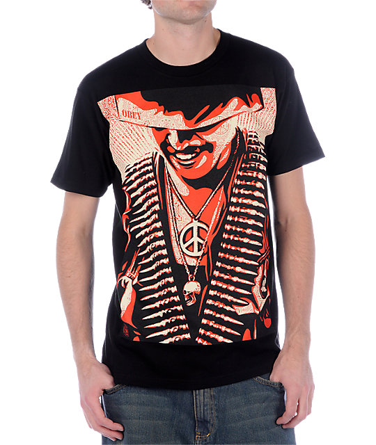 Obey Duality Of Humanity Black T-Shirt
