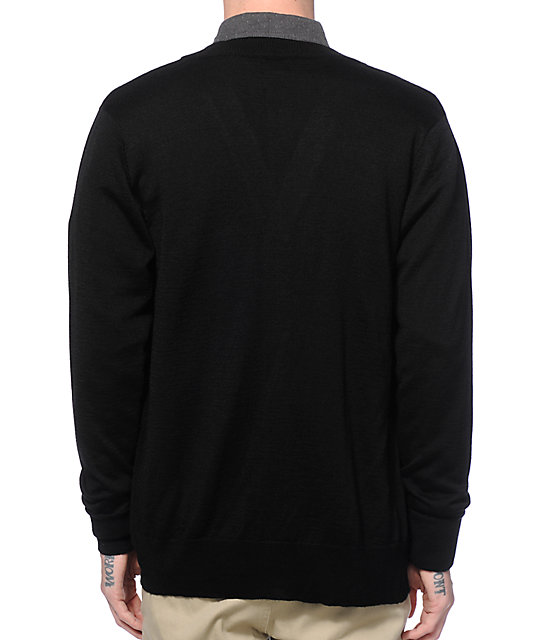 Obey Eighty-Nine Cardigan Sweater