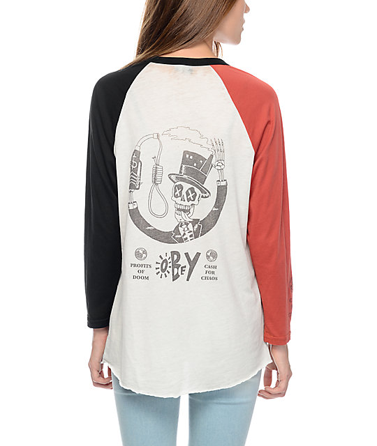 Obey Factory Man Sold Out Long Sleeve Shirt