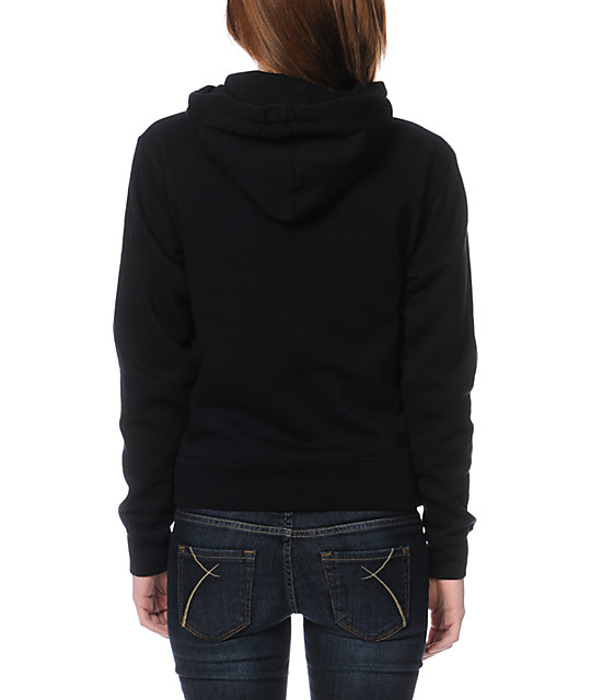 Obey Filth Black Pullover Hoodie