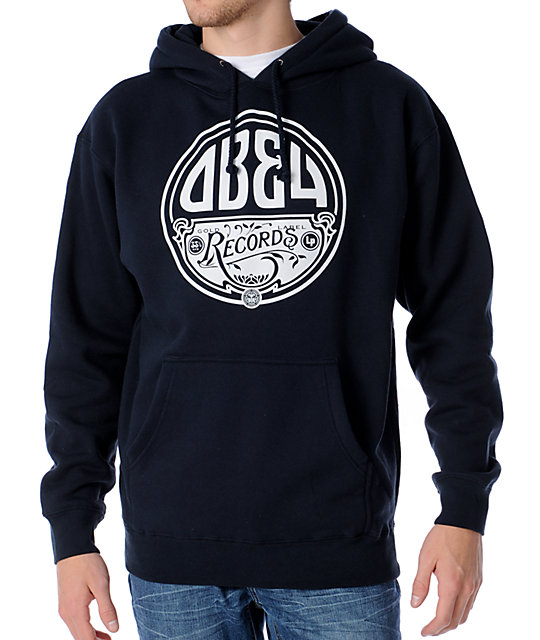 Obey Gold Label LP Blue Pullover Hoodie