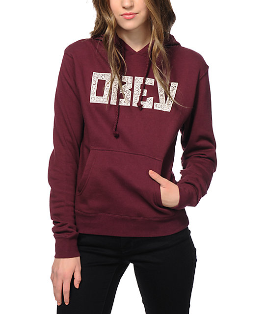Obey Gothic Lace Hoodie at Zumiez : PDP