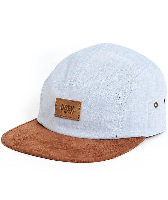 obey harbor 5 panel hat