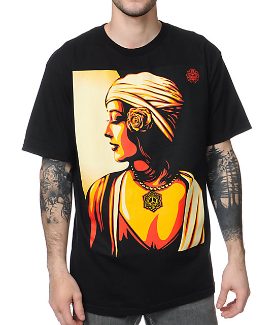 Obey Harmony Black T-Shirt