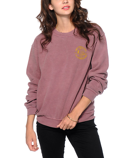 Obey Horse Power Crew Neck Sweatshirt