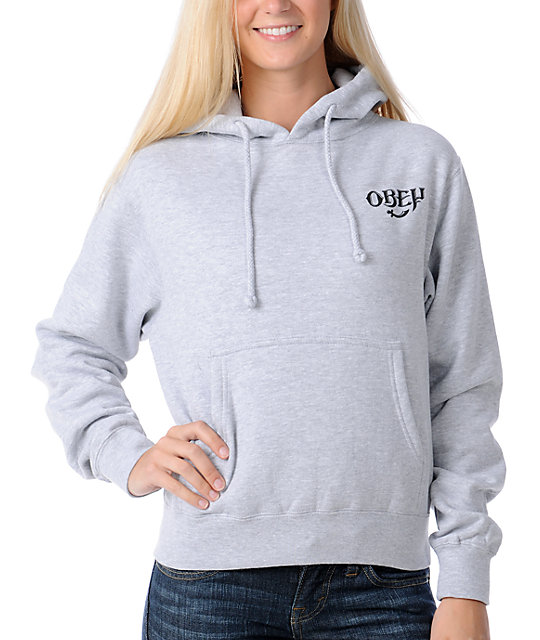 Obey IPA Grey Pullover Hoodie