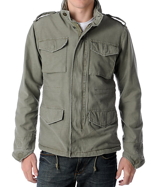 Obey Iggy Olive Field Jacket