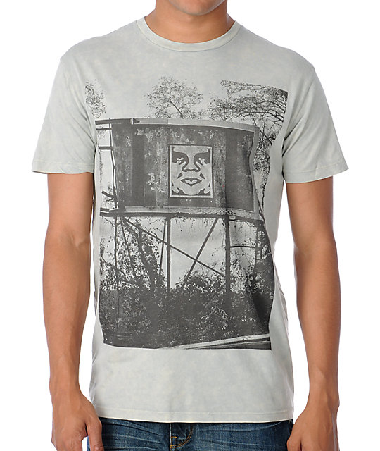 Obey In The Jungle Grey T-Shirt
