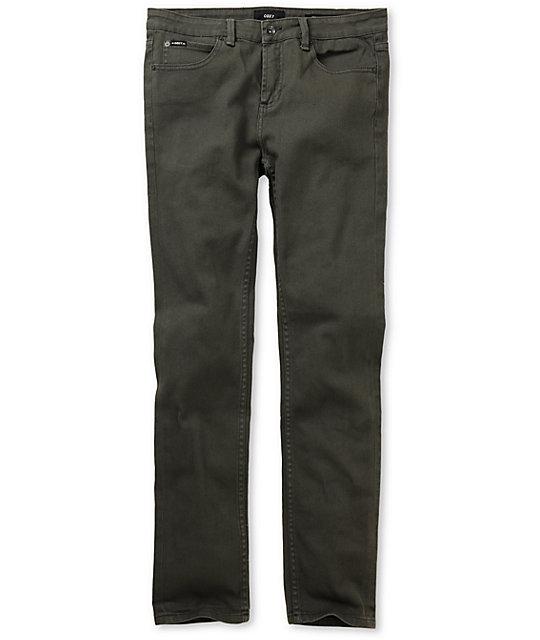 Obey Juvee Graphite Slim Jeans