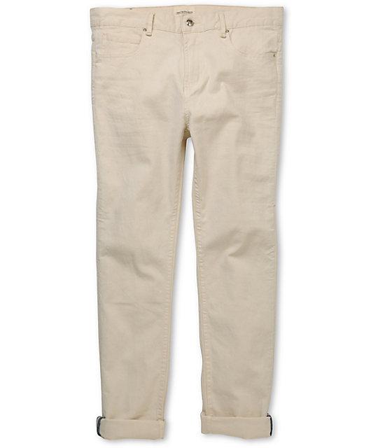 Obey Juvee Natural Roller Slim Jeans