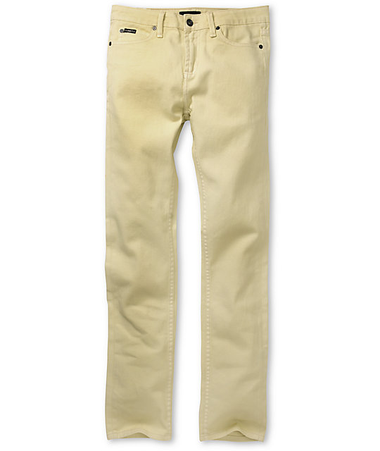 Obey Juvee Natural Slim Jeans
