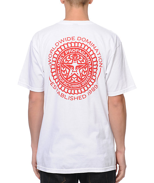 Obey Legion White T-Shirt