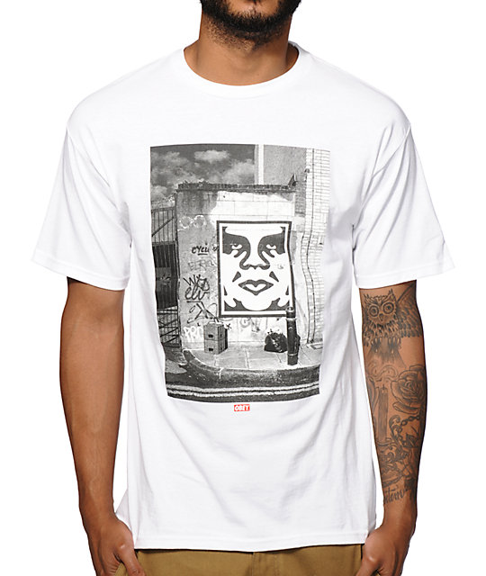 Obey London Icon Photo T-Shirt