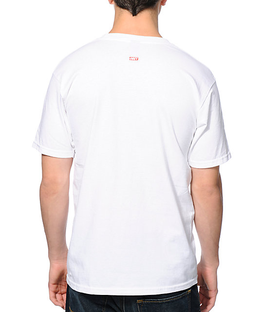 Obey London Icon Photo White T-Shirt