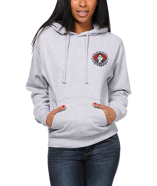 Obey MANW Grey Pullover Hoodie