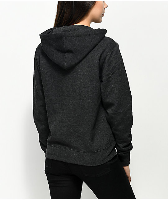 Obey Main Street Charcoal Hoodie