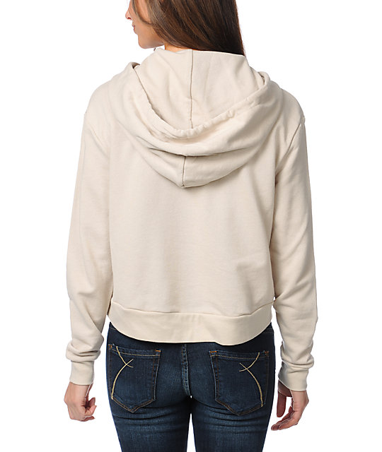 Obey Marked For Life Beige Dolman Pullover Hoodie | Zumiez