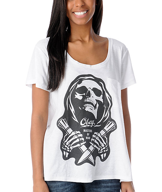 Obey Masters of War Oversized Tri-Blend T-Shirt
