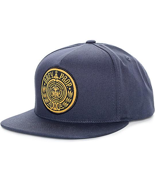 Obey Maximus Navy Strapback Hat