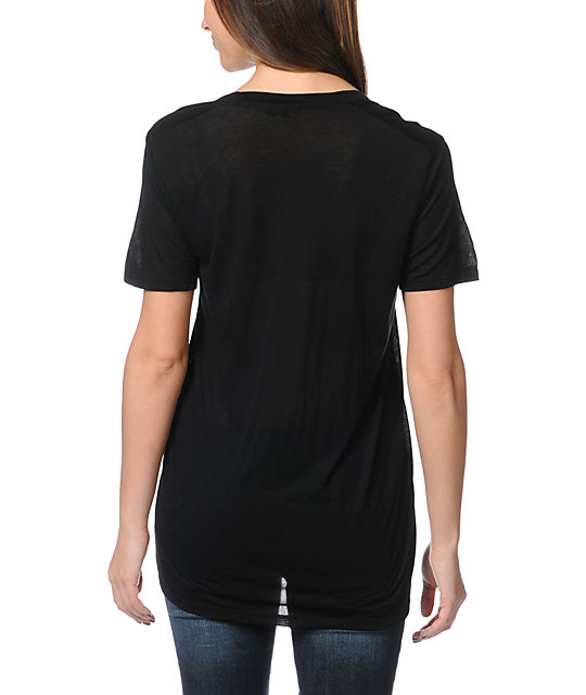 Obey Moon Black Beau T-Shirt
