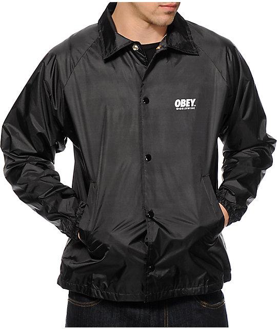 Obey Windbreaker Jackets - My Jacket