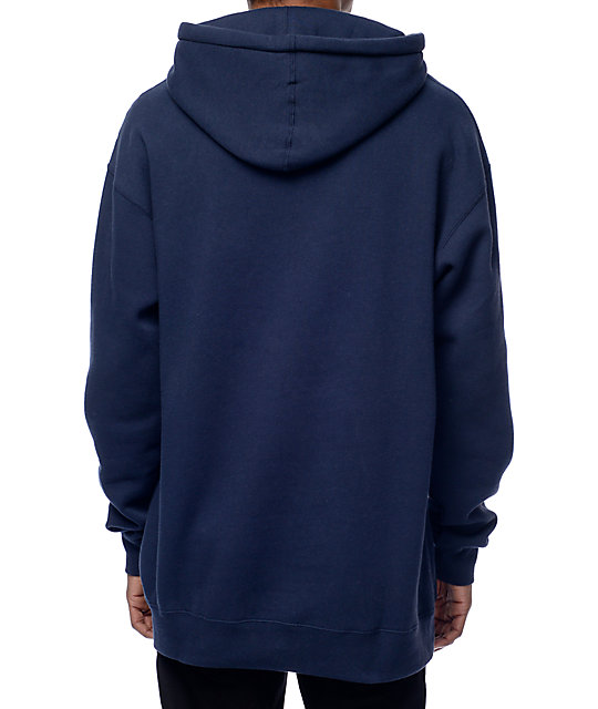 Obey New Times Navy & White Hoodie