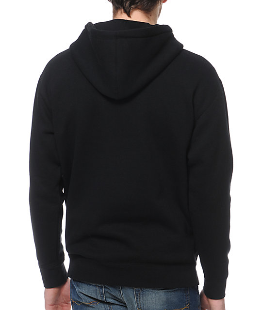 Obey Nine Nickel Black Pullover Hoodie
