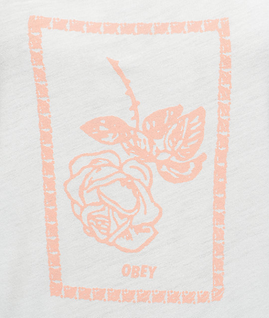 Obey Nobody's Flower Hanna Tank Top