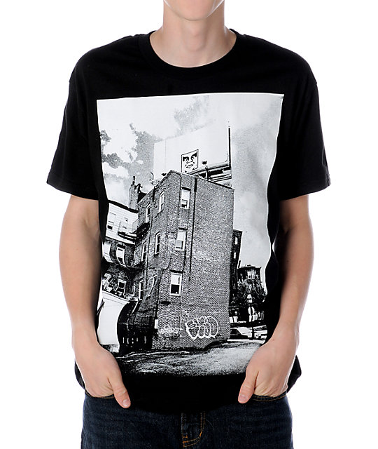 Obey North End Icon Black T-Shirt