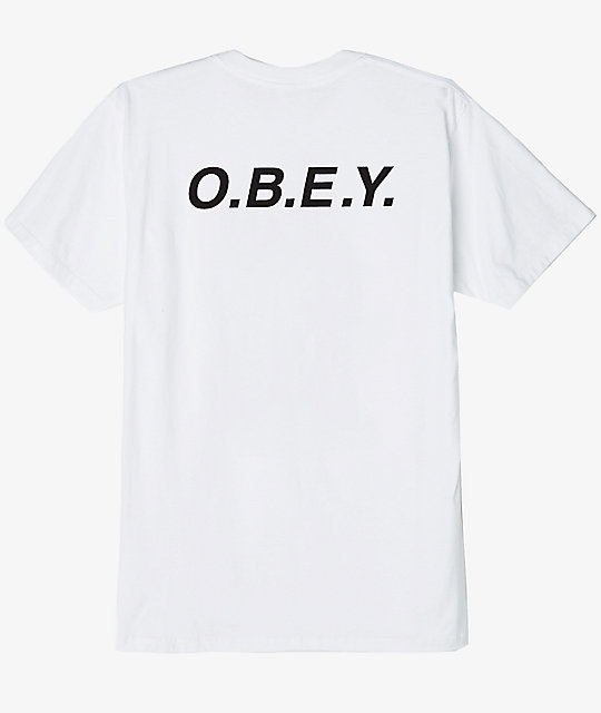 Obey O.B.E.Y. White T-Shirt