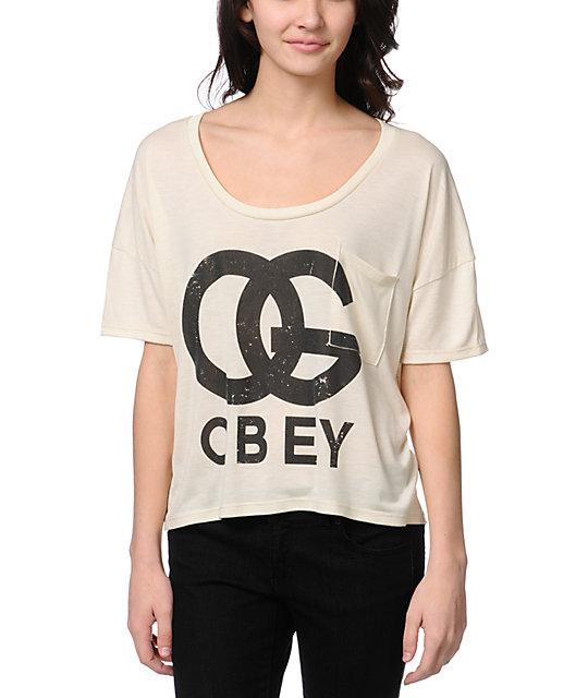Obey OG Forever Natural Gym T-Shirt