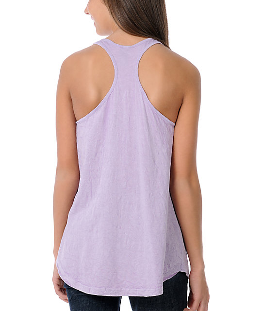 Obey OG Graffiti  Lavender Tank Top
