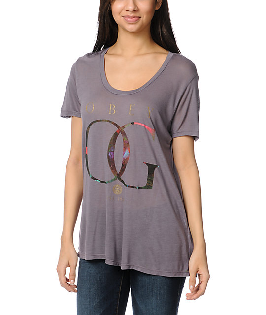 Obey OG Rose Gold Mauve Beau T-Shirt