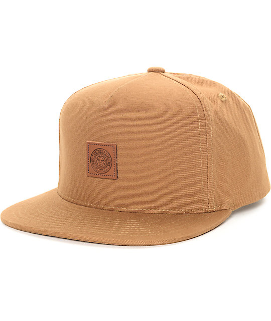 Obey Official Brown Snapback Hat