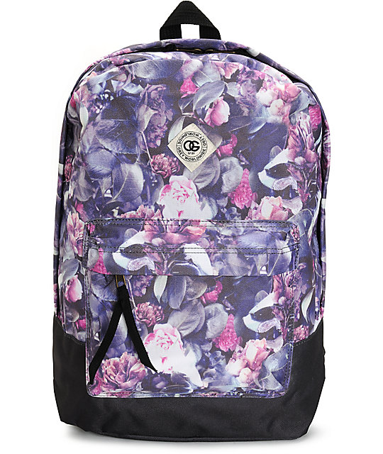 Obey Outsider Floral Backpack