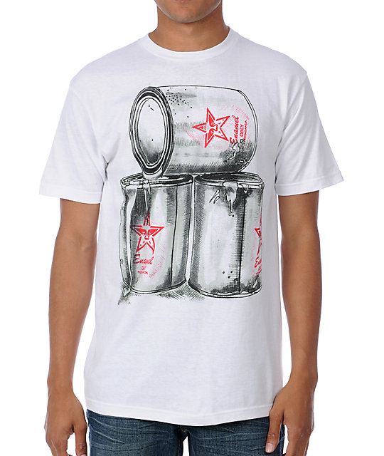Obey Paint White T-Shirt