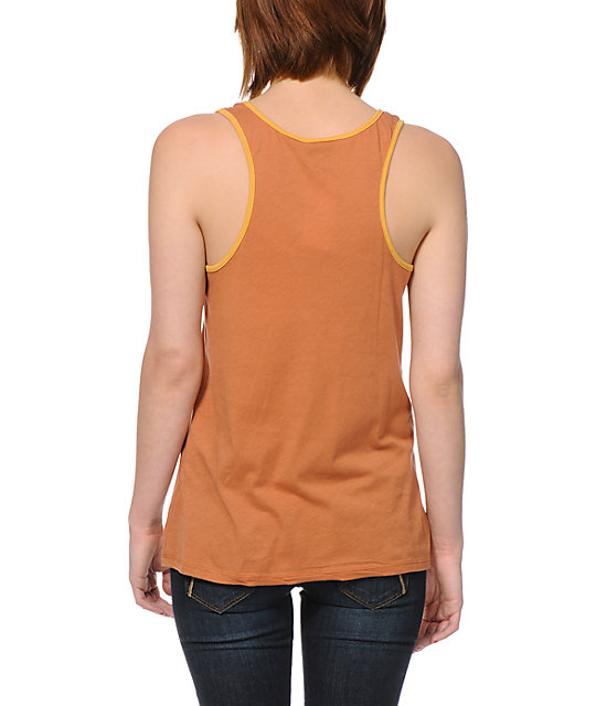 Obey Posse Tour Copper Rookie Tank Top