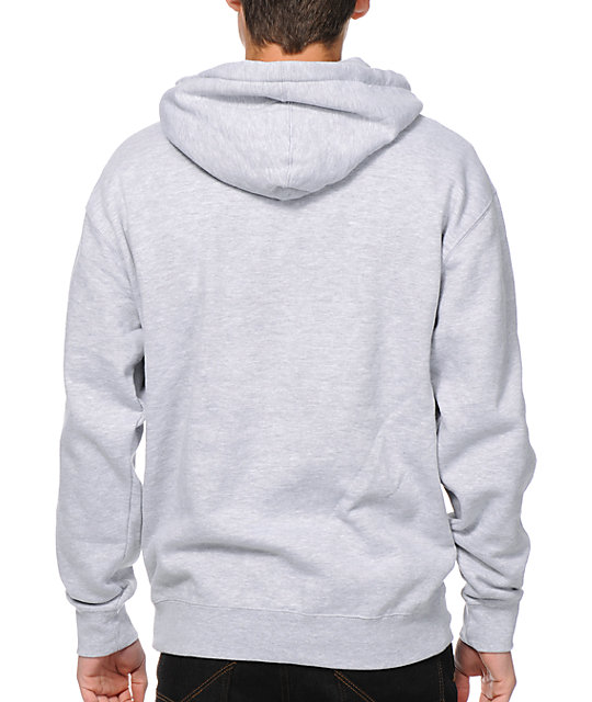 Obey Posse Worldwide Heather Grey Pullover Hoodie